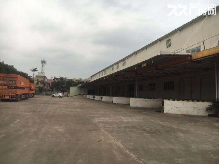空地大有卸货平台8米高单一层钢构物流仓库出租-图(3)