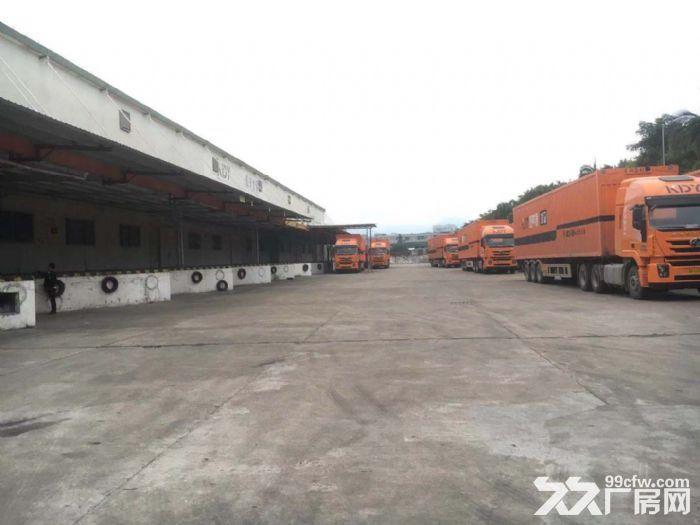 空地大有卸货平台8米高单一层钢构物流仓库出租-图(2)