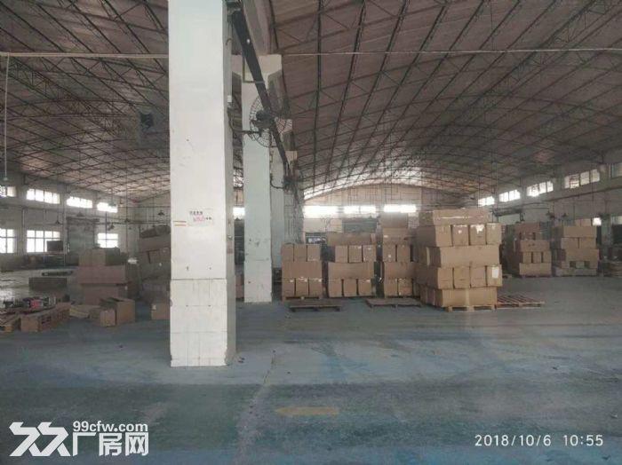 顺德区均安镇花园式厂房13000方招租,可以分租-图(3)