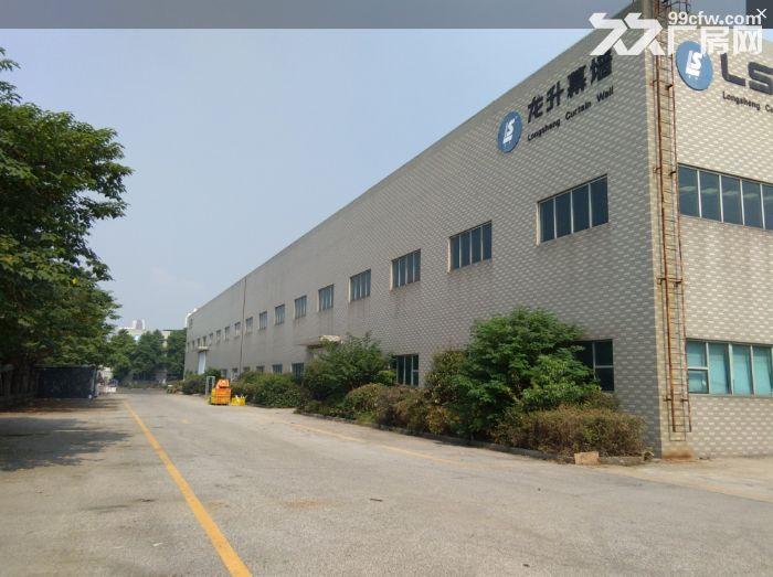 非中介!安镇单层机械厂房2600平米可分租1300平米,行车两部5吨-图(1)