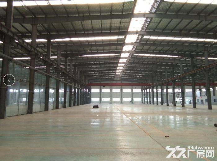非中介!安镇单层机械厂房2600平米可分租1300平米,行车两部5吨-图(3)