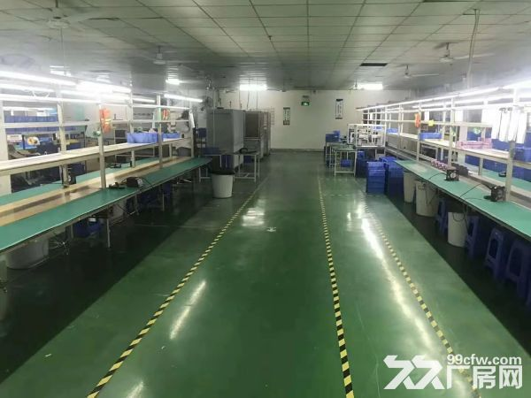 塘厦138工业区标准2楼1450电子车间干净整洁-图(2)