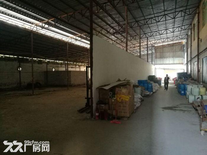凤岗黄洞塑胶抽粒破碎展柜家私便宜钢结构厂房出租-图(2)
