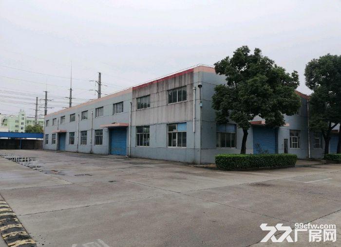 锡山东亭2300平独栋厂房空地大一手房东-图(2)
