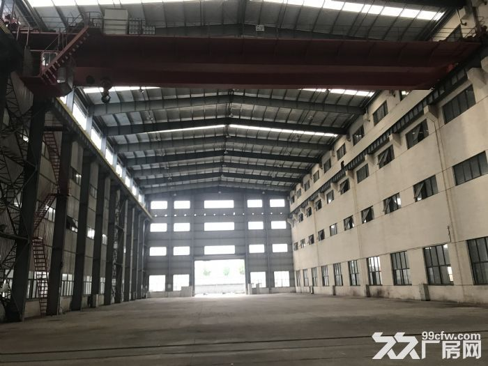 苏州与无锡交界处5000平标准机械厂房带行车-图(1)