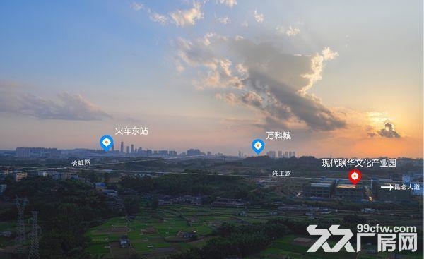 300−3000㎡凤岭东站旁产业园,厂房办公综合体,50年产权-图(1)