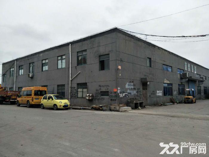 蓬朗独栋单层厂房900平底价出租产证齐全,带行车-图(1)