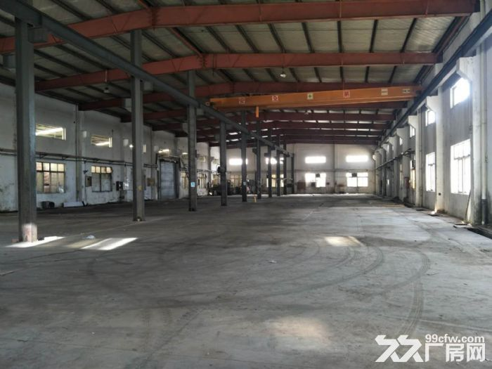 蓬朗独栋单层厂房900平底价出租产证齐全,带行车-图(4)