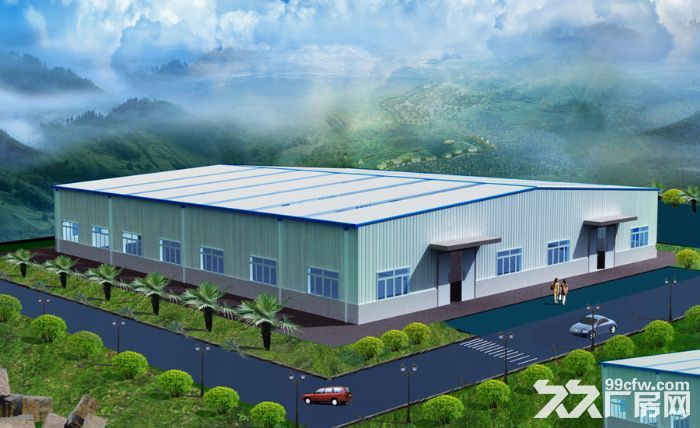 中华路往东临路20000平方标准厂房有空地停车位独立办公楼员工宿舍-图(1)
