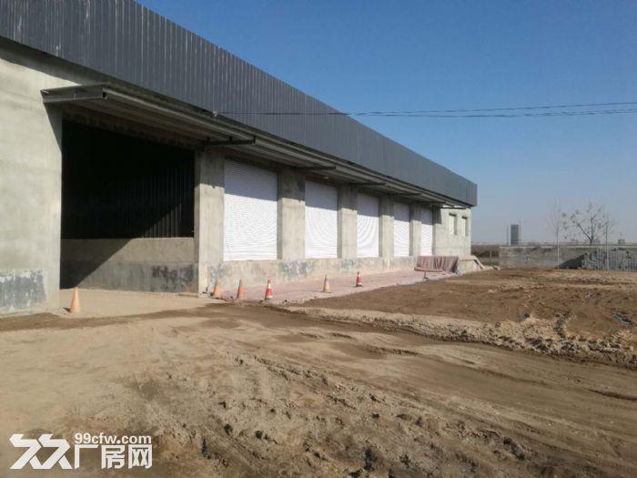 济青高速潍城出口旁西环路边地物流库-图(1)
