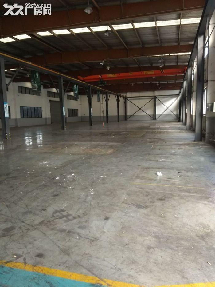 厂房出租标准厂房1400平,产证齐全,配有办公室宿舍,层高9米-图(1)