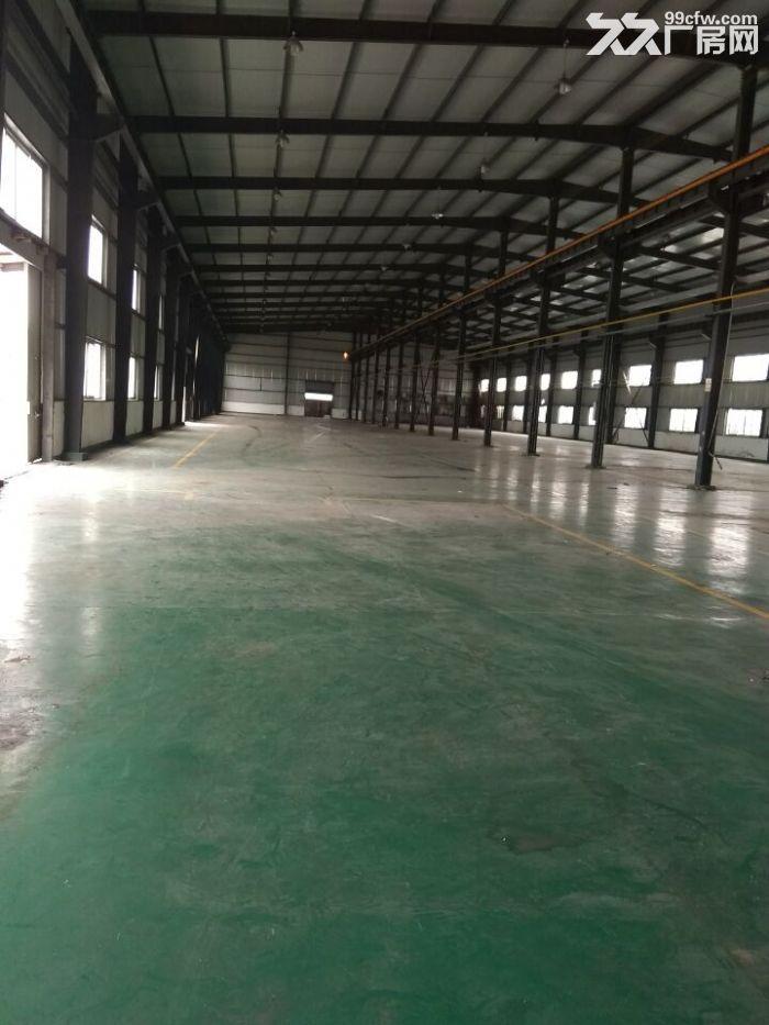 独门独院厂房1500平,地属104板块绿证厂房,带行车,全新环氧地坪-图(1)