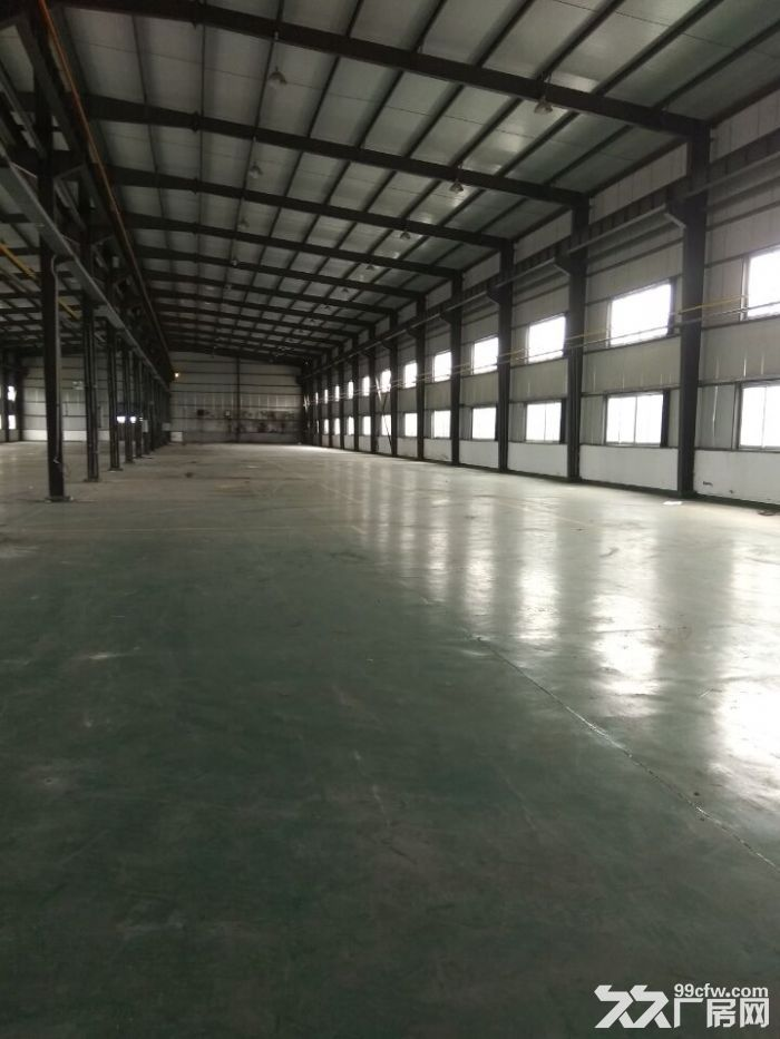 独门独院厂房1500平,地属104板块绿证厂房,带行车,全新环氧地坪-图(2)