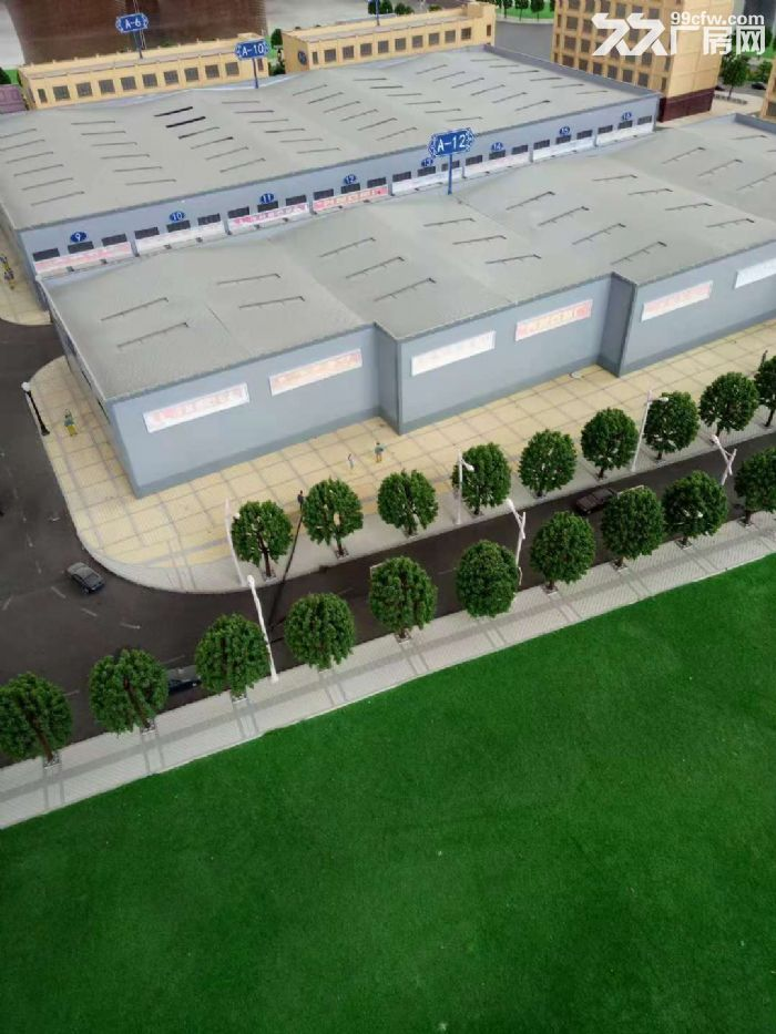 标准钢结构厂房出租出售有航车,手续齐全,交通位置佳,带租约。-图(2)