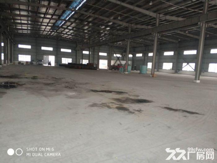 周市金茂璐独栋6500平标准厂房出租-图(1)