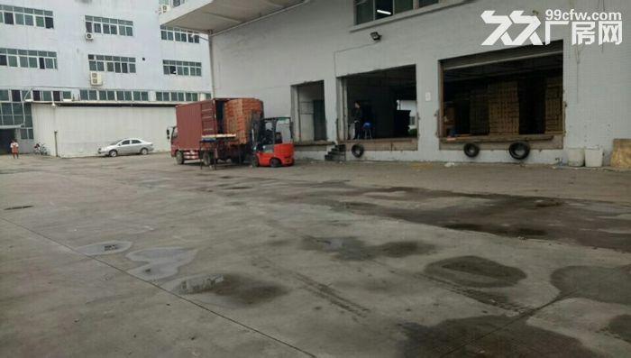 清溪带卸货平台两个3吨电梯消防喷淋二楼厂房出租-图(1)