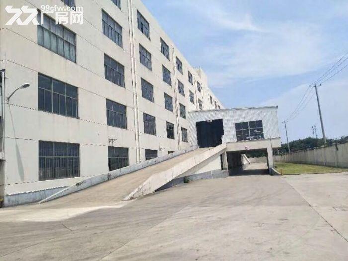 车墩104地块赵家泾路旁7500平方高平台厂房仓库出租,500平方起租,证件齐全-图(1)