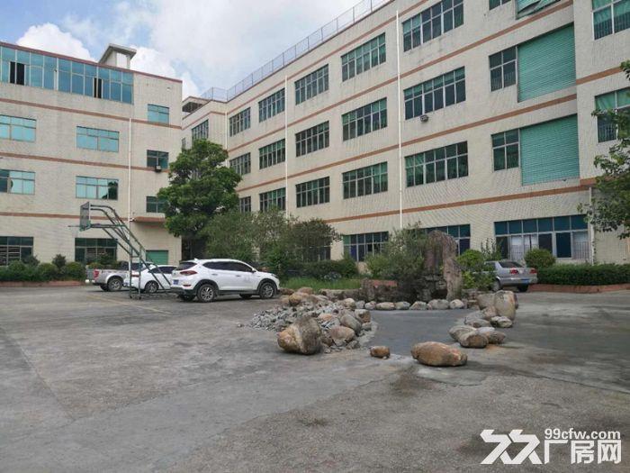 石岩龙大高速出口花园式一楼2800厂房可分租-图(1)