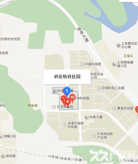 布吉上李朗100平左右小面积办公厂房出租-图(1)