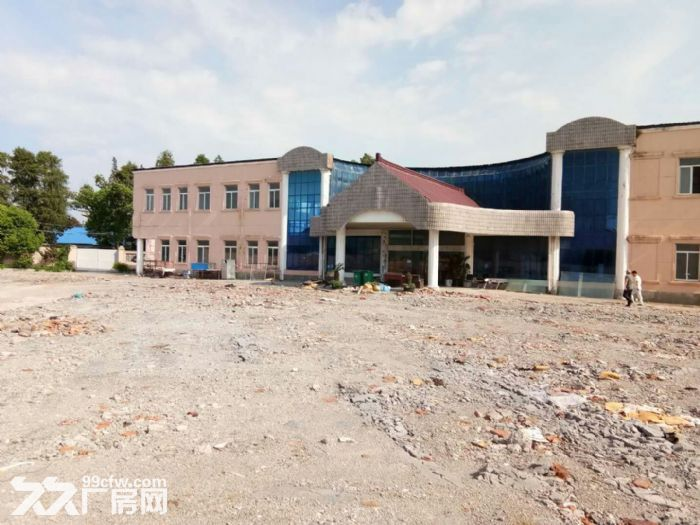 浦东机场独门独院15亩土地适合停车场,堆场等-图(1)