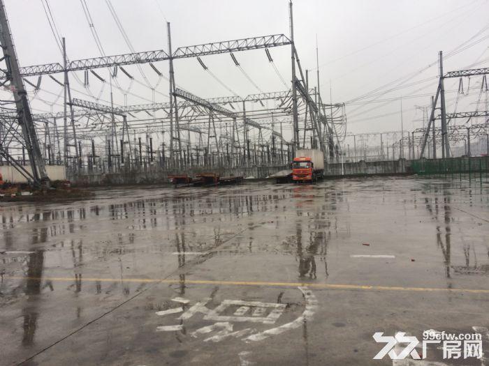 浦东曹路水泥硬化12亩场地可做停车场!!!-图(1)