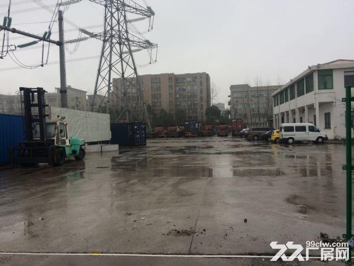 浦东曹路水泥硬化12亩场地可做停车场!!!-图(4)