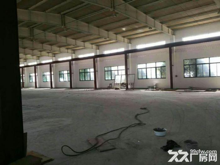 开票松江泗泾1900平火车头单层104厂房层高8米已架好行车可办公生产-图(1)