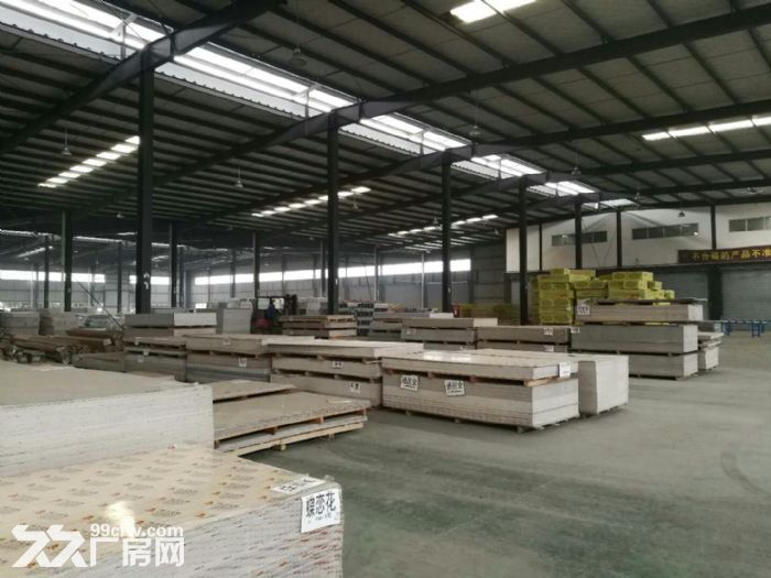 双流西航港工业园4000平米有环评喷塑车间厂房出租-图(1)