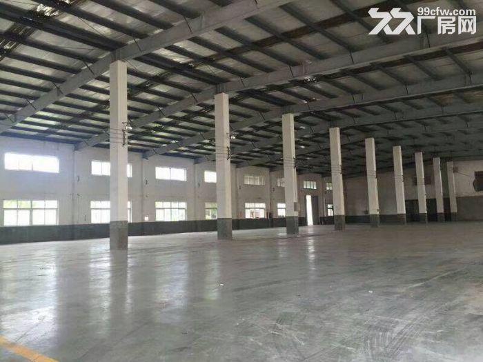 嘉定华亭标准仓库3000平层高9米,精装修办公室-图(1)