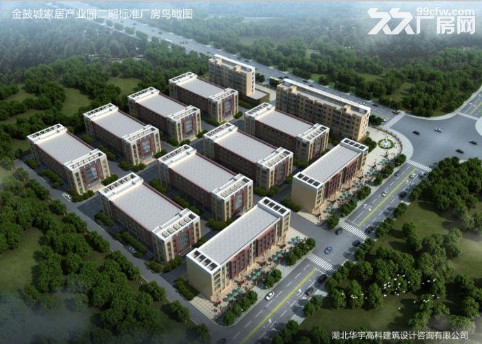出售湖北汉川城北产业园标准厂房仓库40000方-图(3)