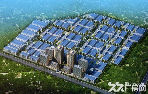 石家庄石清路旁工业用地带土地证50年产权可随时施工-图(1)