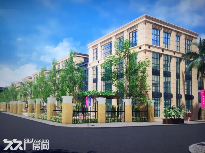 出售三层独栋别shu厂房均价5800送400m私人庭院-图(3)
