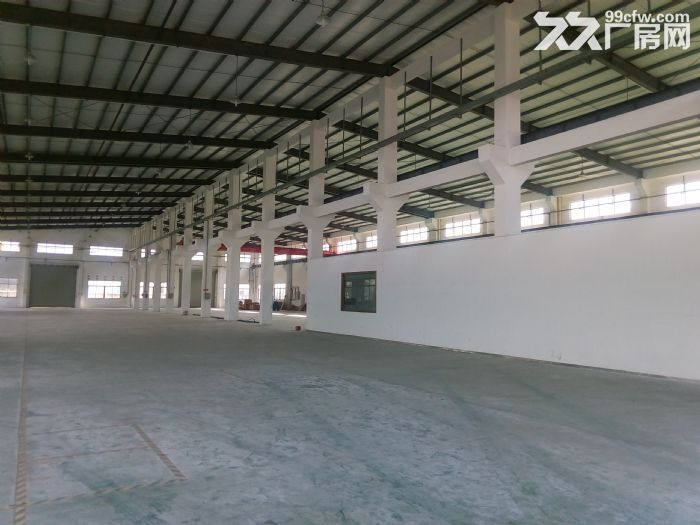 形像漂亮全新标准厂房50000方,可以分租,交通方便,可进任何大车,跨度25米。-图(6)