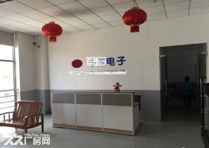 黄江社贝楼上带装修厂房出租2000平水电齐全-图(3)