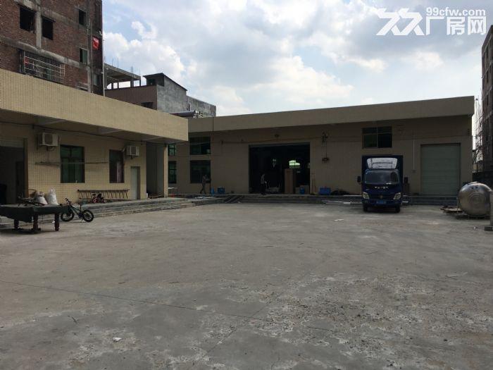 小金口独院约1800平方带牛腿厂房办公宿舍招租交通好-图(1)