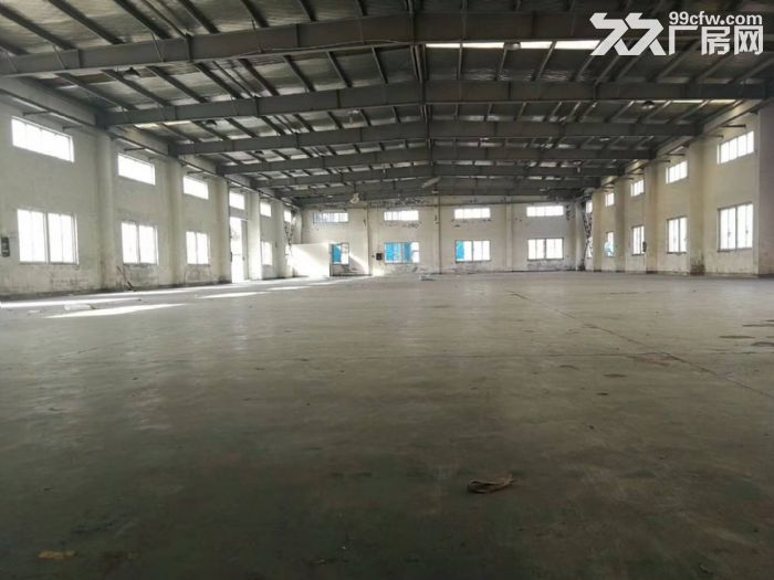 嘉定工业区标准单层厂房2600平,高度9米-图(1)