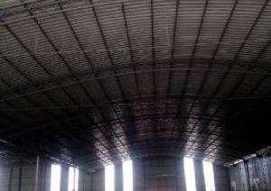 1200平方钢构厂房出租(空地仓库)(有手续)