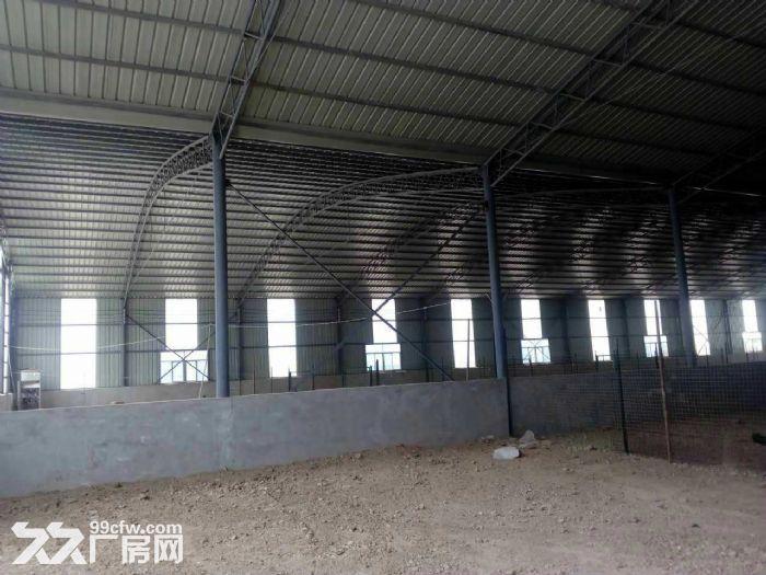 1200平方钢构厂房出租(空地仓库)(有手续)-图(2)