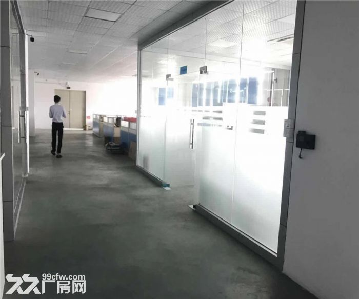 松岗浦京半导体产业园1480平米带装修厂房出租-图(2)