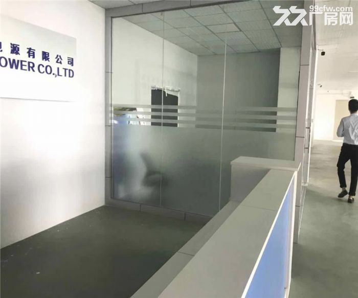 松岗浦京半导体产业园1480平米带装修厂房出租-图(4)