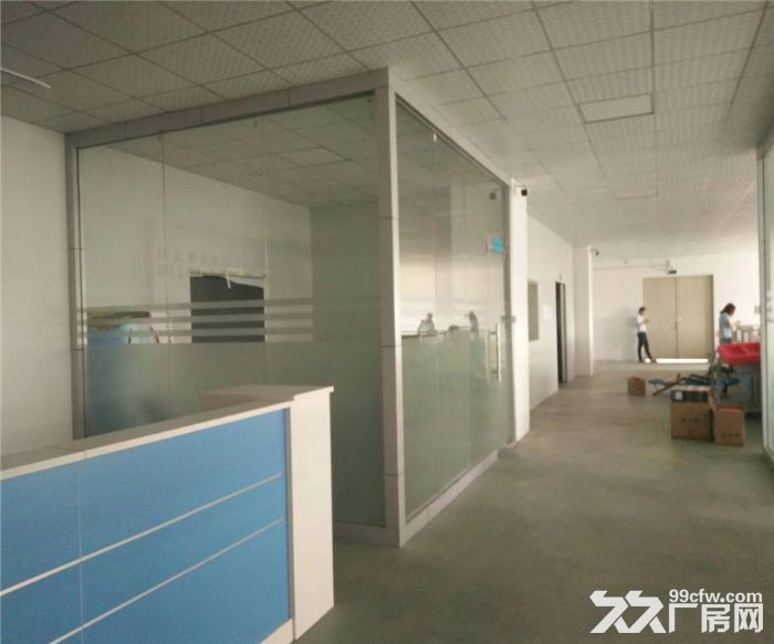松岗浦京半导体产业园1480平米带装修厂房出租-图(7)