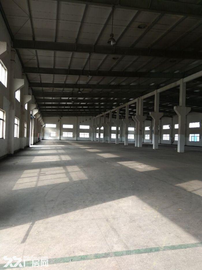 嘉定马陆澄浏中路丰茂路新出标准厂房2800平层高8.5米,带行车-图(1)