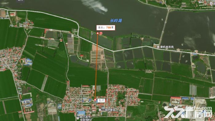 出租道里机场路厂房、长岭湖、新发镇周边、仓库2400平方米-图(1)