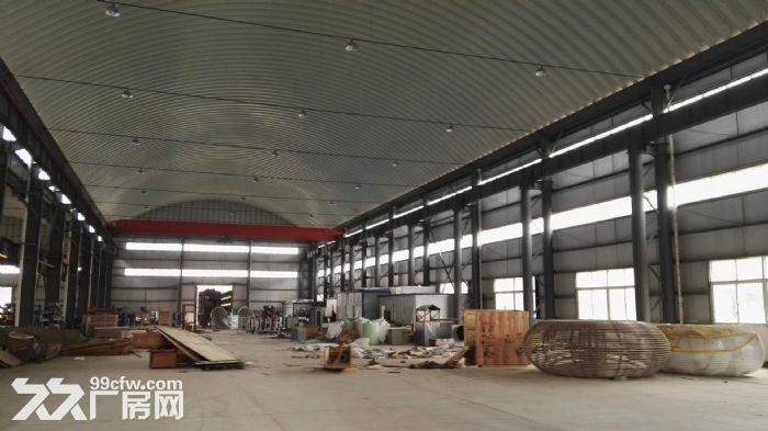 单层钢构厂房(10吨行吊)、带电梯办公楼、宿舍出租华容区九号路-图(2)