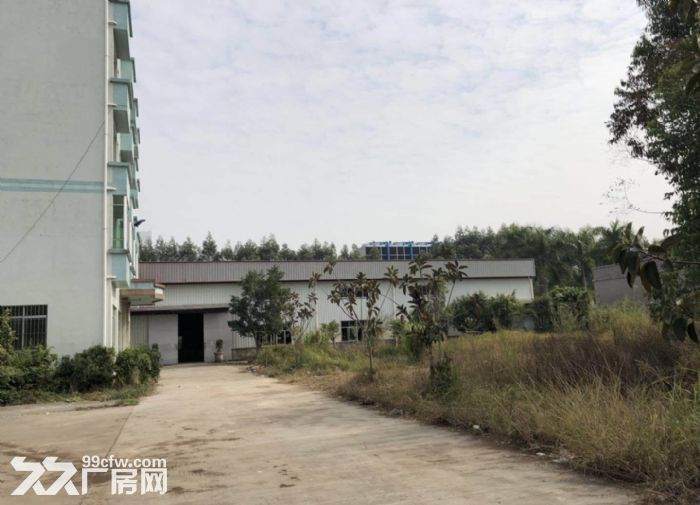 东城牛山外经工业园钢构厂房带行车急租-图(2)
