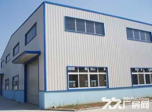 惠东县白花8米高钢构厂房面积3200平米出租-图(1)
