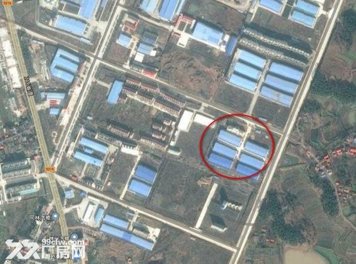 上石桥工业园区超大厂房出租,可随意调头,办好环评证-图(1)