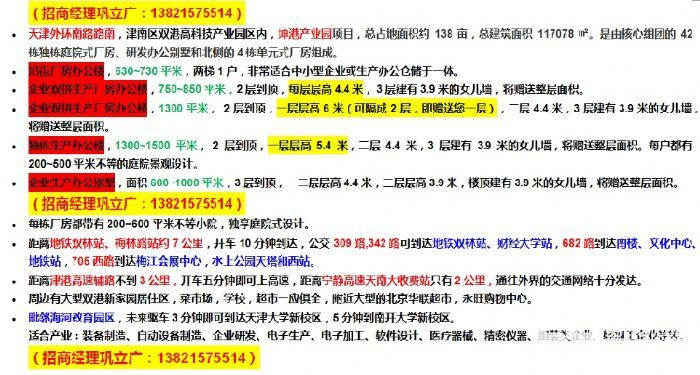 双港开发区临近天津大学企业办公独栋赠整层露台-图(3)