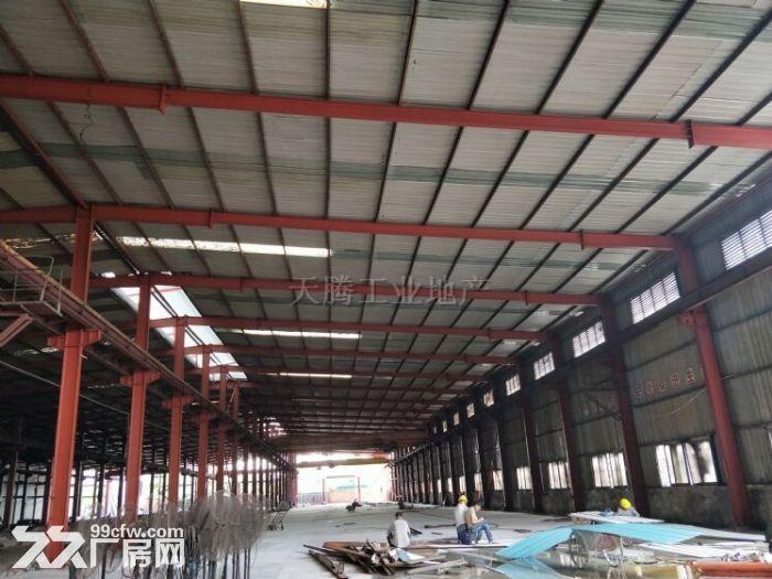 全新钢结构厂房(有牛腿12台行车)中高10米,滴水