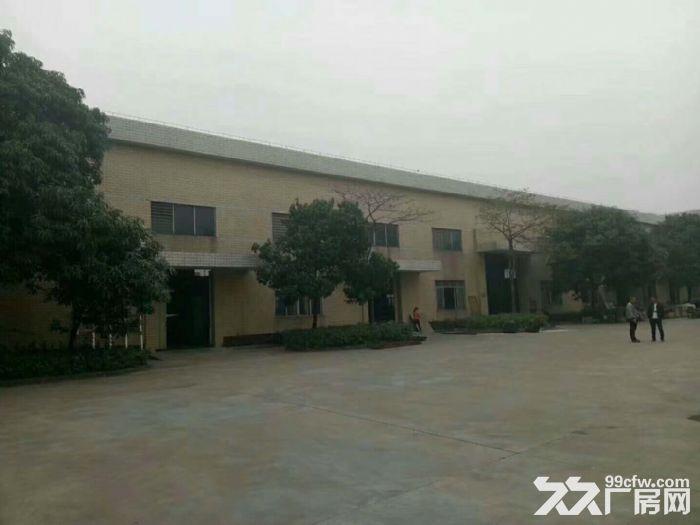 独门独院单一层钢结构10米高厂房10000平方厂房出租-图(1)